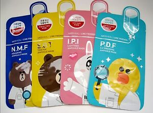 [MEDIHEAL] Line Friends Ampoule Mask Sheet Pack