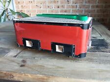 NEW METAL JAPANESE / KOREAN CERAMIC HIBACHI BBQ BARBEQUE TABLE GRILL - RED
