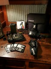 Rare POLAROID PDC 2000 Digital Camera W/ Case, Chargers, Lense, Extras Mint.