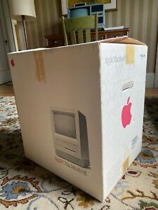  Apple Macintosh SE FDHD SCSI2SD 4MB RAM with Original Box and Styrofoam