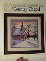 Cross My Heart Inc Country Chapel Church Religious Counted Cross Stitch Pattern