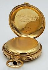 1896 Tiffany & Co 18K C.H. Meylan Repeater Rattrapante Pocket Watch Case 79g