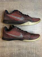 Nike KB Mentality II Kobe Mens Basketball Shoes Burgundy/Grey [818952 002] Sz 11