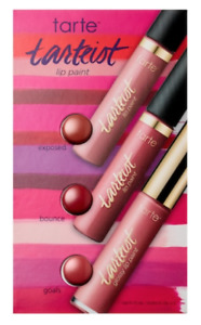 TARTE Tarteist Lip Paint - Sample Card w/ 3 Shades - New