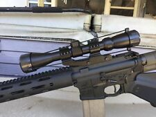 "High Profile AR-ArmourTac Rifle Scope Mount Ring QD Picatinny Rail 1"" Adjusting"
