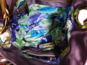 Lot of 3 SHOULDER/SATCHEL COACH cross body  PURSE/JPK PaRIS purple + free BAG