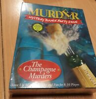 Murder Mystery The Champagne Murders Dinner Party Game