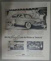 Kaiser Car Ad: The New Henry J. Kaiser ! from 1953 Size: 11 x 14 inches