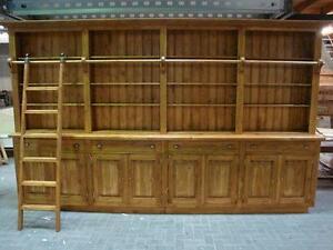 6645 Bibliotheksschrank Verkaufsregal Ladenschrank 4,00 m