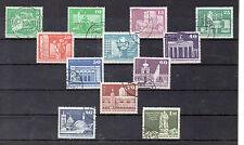 Alemania DDR Monumentos Valores del año 1973-74 (CE-833)