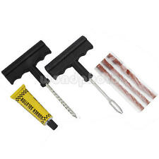 Car Auto Tubeless Tire Tyre Puncture Plug Repair Kit Motorcycle Scooter Quad
