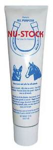 Nu Stock Ointment 12 oz.burns, swelling, red mange,horses, dogs, regrows hair
