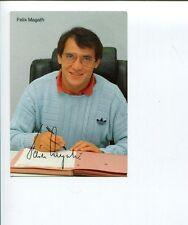 Felix Magath Bayern Munich Hamburger SV Soccer Signed Autograph Photo