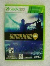 Guitar Hero Live - Xbox 360 - DISC IS MINT