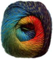 KUNSTGARN Wolle Sockenwolle Strickwolle Lacewolle Stricken Lace FARBVERLAUF 19