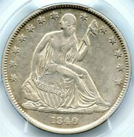 1840-O Liberty Seated Silver Half Dollar, PCGS XF-40, Affordable Orleans Coin!