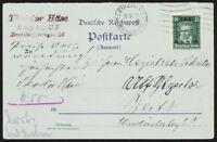 DR 1927, MiNr. 407 Einzelfrankatur, Befund Schlegel, Mi. 500,-