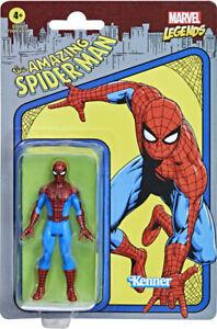 """Kenner Marvel Legends The Amazing Spider-Man Retro 3.75"""" Figures - Spider-Man"""