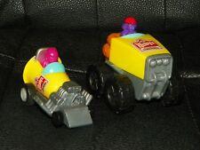 2 WENDY'S Chicken Nuggets MONSTER TRUCK Milkshake RACE CAR Rare!