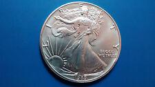 MONEDA DE PLATA PURA  0.999/1000 EEUU Liberty Eagle  AÑO 1989 1 ONZA  EN CAPSULA