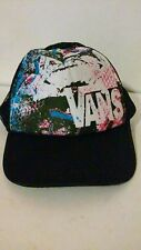 VANS Snapback Mesh Trucker Hat Black and Bold Colors