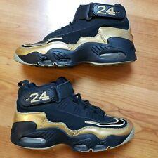 reputable site 6c399 f1a4d Nike Air Griffey Max 1 Men s Size 8.5 Black Metallic Gold Sneaker 354912-006