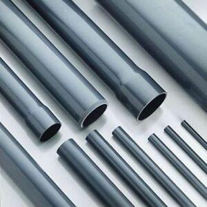 PVC Rohr / Druckrohr 12 mm, 1 m