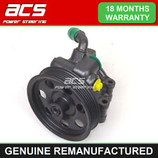 MAZDA TRIBUTE POWER STEERING PUMP 2.0 2001 TO 2005 - RECONDITIONED (With Sensor)