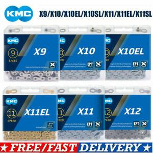 KMC X8 X9 X10 X11 X12 Bike Chain 8/9/10/11/12 Speed Road MTB Chains