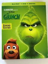 New How the Grinch Stole Christmas (Blu-ray, Dvd & Digital 2019)