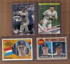 Aaron Judge Rookie Rc SP lot, Heritage, Archives,Bowman, Topps OD, Yankees