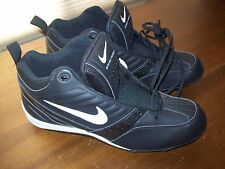 NEW Nike Strike Force Football Cleats Shoes Mid 3/4 Black Men's 16 Style 306093