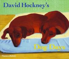 David Hockney's Dog Days by David Hockney | Paperback Book | 9780500286272 | NEW