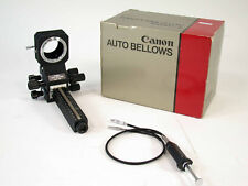CANON Auto bellows FD Balgengerät Balgen last version mint boxed macro /18