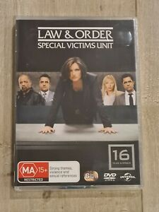 Law & Order Special Victims Unit Season 16 DVD - Region 4 - BRAND NEW & SEALED