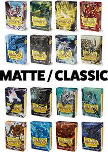 DRAGON SHIELD SMALL CARD SLEEVES MATTE / CLASSIC JAPANESE SIZE / YUGIOH SLEEVES