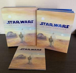 Cofanetto STAR WARS La Saga Completa BLURAY 6 Film Collezione collection set