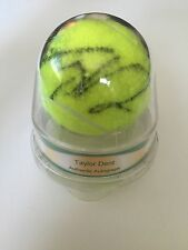 Taylor Dent Signed Wilson US Open Tennis Ball - Ace Authentic - Autographed