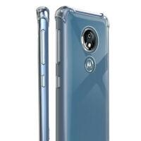 Clear Silicone Case Corner Bumper Cover For Motorola Moto G7 Play xt1952