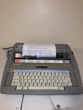 Brother Sx 4000 Portable Electronic Typewriter Tested Works