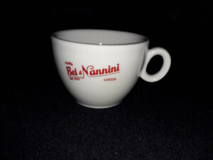Bei & Nannini expresso coffee cups, commercial porcelain quality, made in Italy.