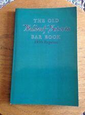 OLD WALDORF ASTORIA BAR BOOK 1935  2008 Bootleg By Ross Bolton 2012 Lex Ky Ed.