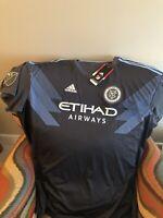 ADIDAS new york city FC MLS soccer Jersey NWT Size 3XL  Mens
