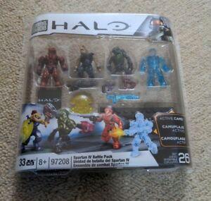 Mega Bloks Halo Spartan IV Battle Pack Set #97208 Brand New