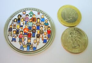 * 2009 Lackey Geocoin Signal the Frog unactivated