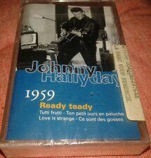 NEUVE SCELLEE JOHNNY HALLYDAY K7 CASSETTE VOL 40 GUITARE 1959 READY TEDDY