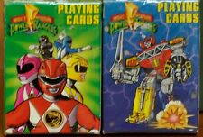 2 Sealed Decks of Mighty Morphine Power Rangers Playing Cards, U.S. Playing Card