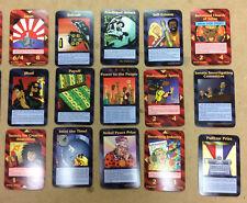 INWO TCG Illuminati New World Order Trading Card Game lot 177 individual cards