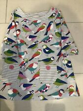 Mini Boden Bird Tunic- dress size 5-6 Years