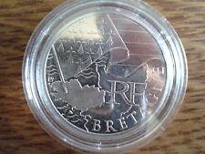 france 10 euros argent 2010 bretagne